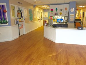 day care center lobby